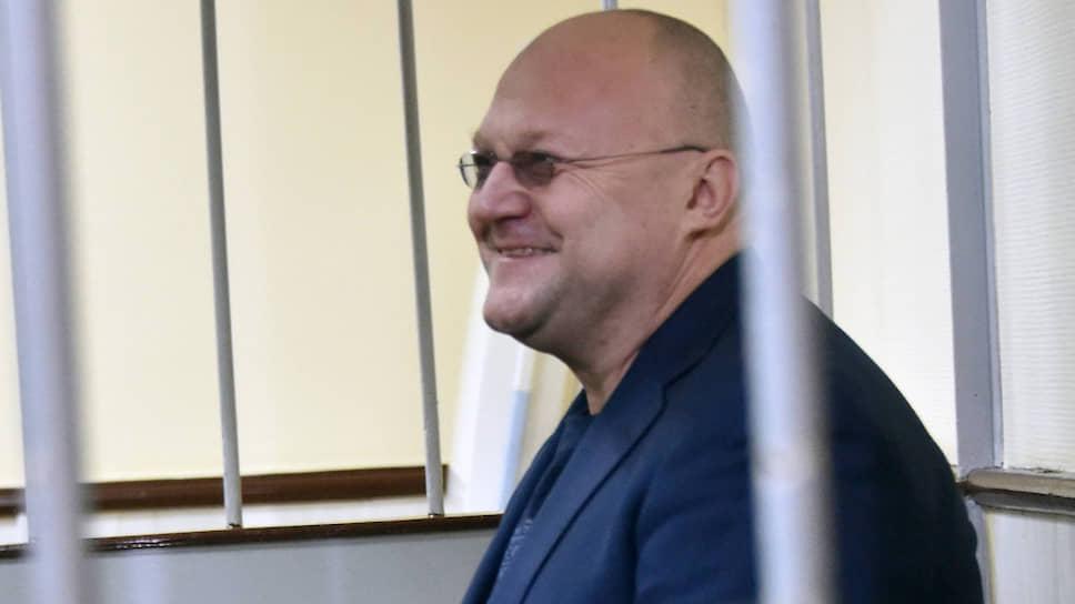 Бывший глава управления СКР по Москве Александр Дрыманов
