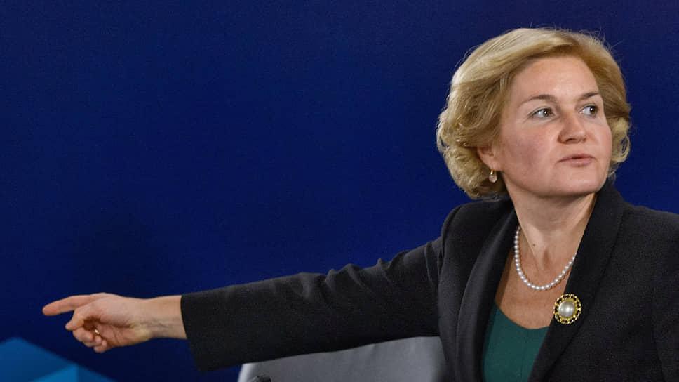 Бывший вице-премьер России Ольга Голодец