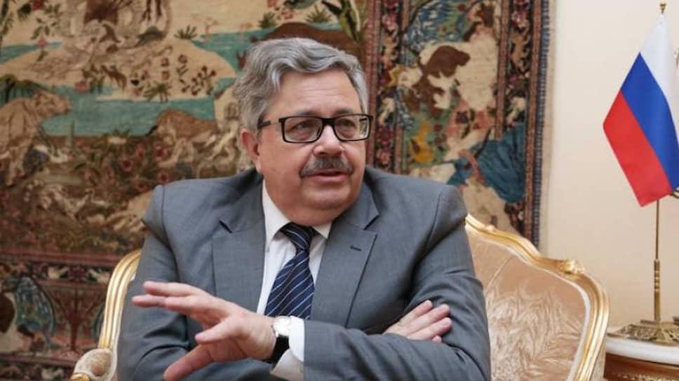 Чрезвычайный и полномочный посол России в Турции Алексей Ерхов