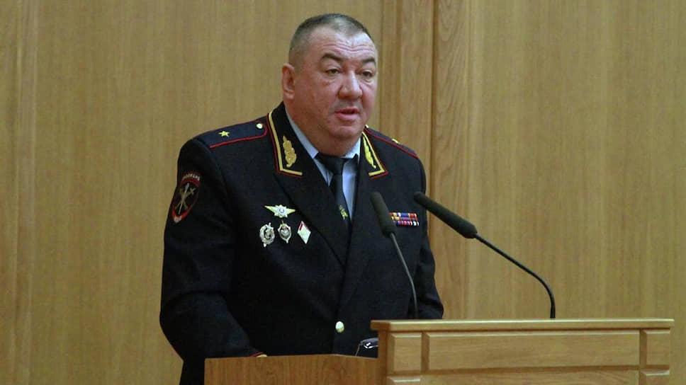 Начальник московской полиции Сергей Плахих