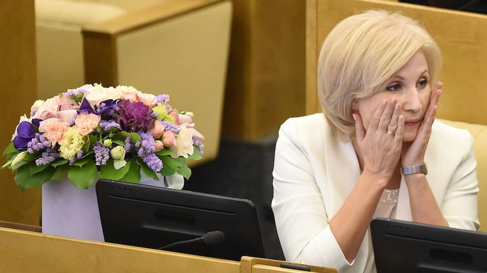 Депутат Госдумы Ольга Баталина