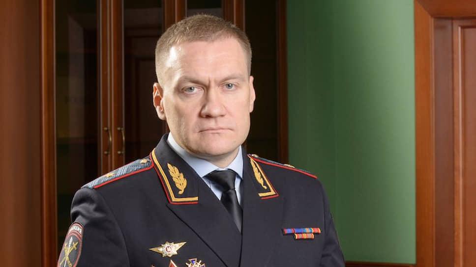Генерал-майор полиции Роман Плугин