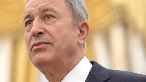 Министр обороны Турции: о противостоянии с Россией в Сирии не может быть и речи