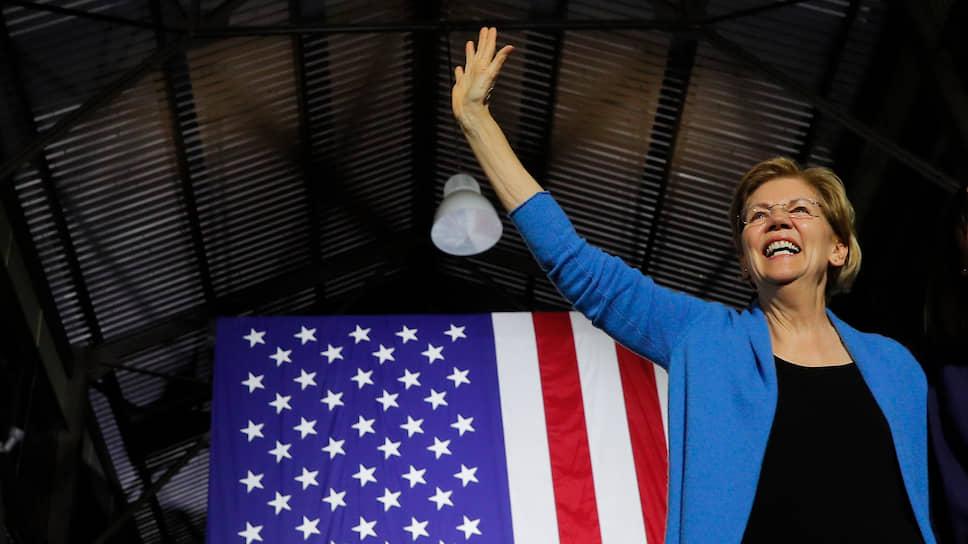 Сенатор США от штата Массачусетс Элизабет Уоррен