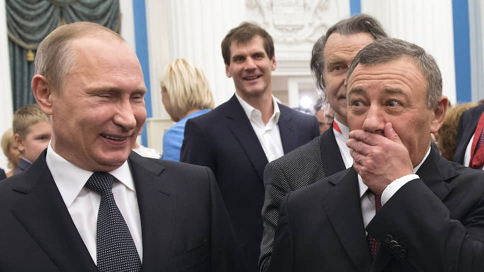 Путин присвоил Аркадию Ротенбергу звание Героя Труда - Новости – Бизнес – Коммерсантъ
