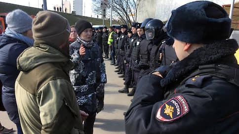 В Москве при поддержке полиции началось строительство Юго-Восточной хорды