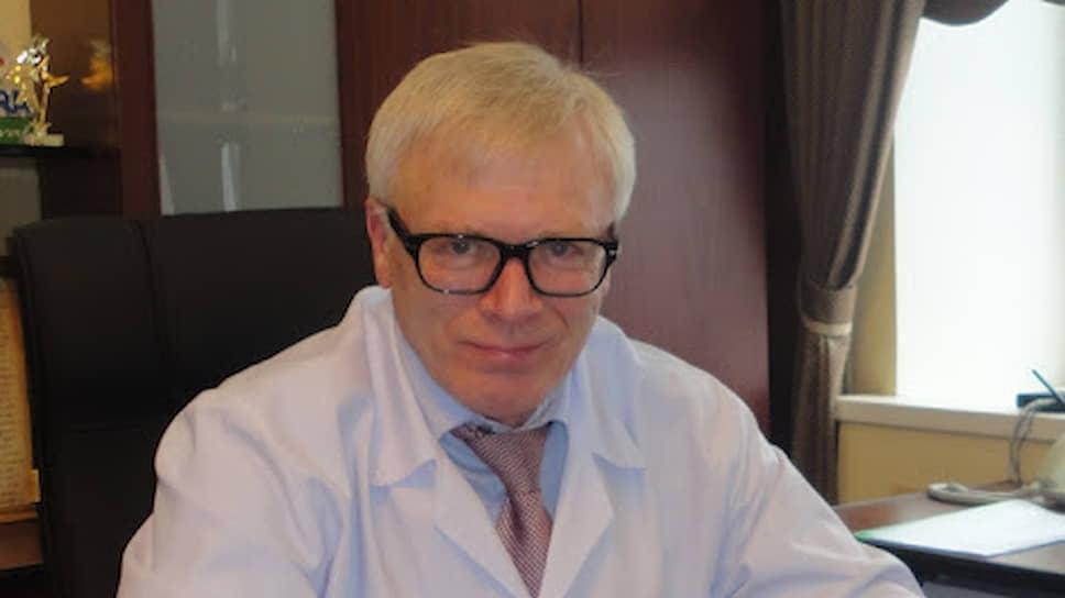 И. о. главного врача Калужской областной клинической больницы Владимир Кондюков