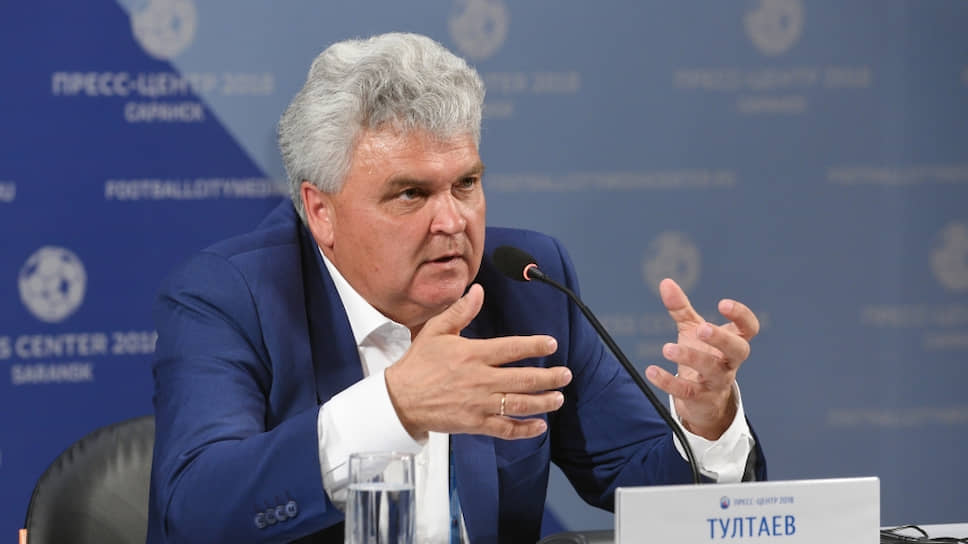 Мэр Саранска Петр Тултаев