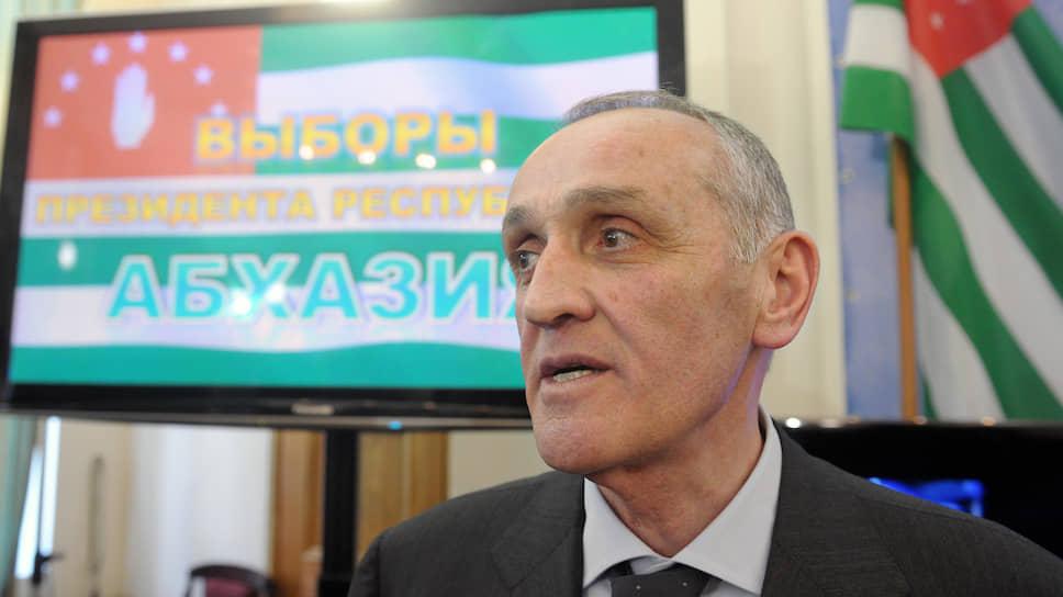 Президент Абхазии в 2011–2014 годах Александр Анкваб
