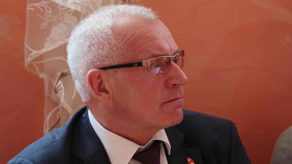 Глава Кунгура Сергей Гордеев