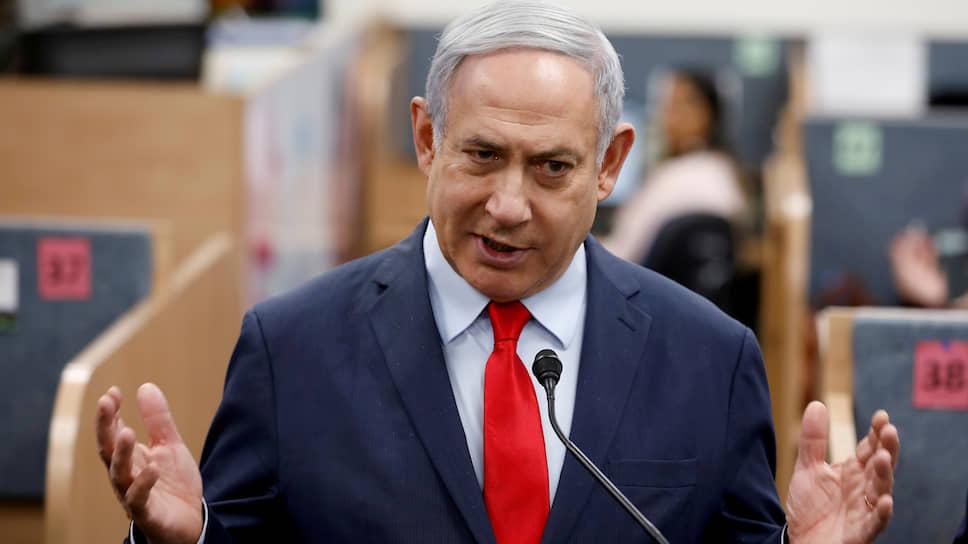 Премьер-министр Израиля Биньямин Нетааньяху