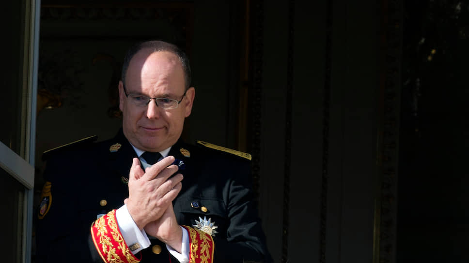 Князь Монако Альбер II