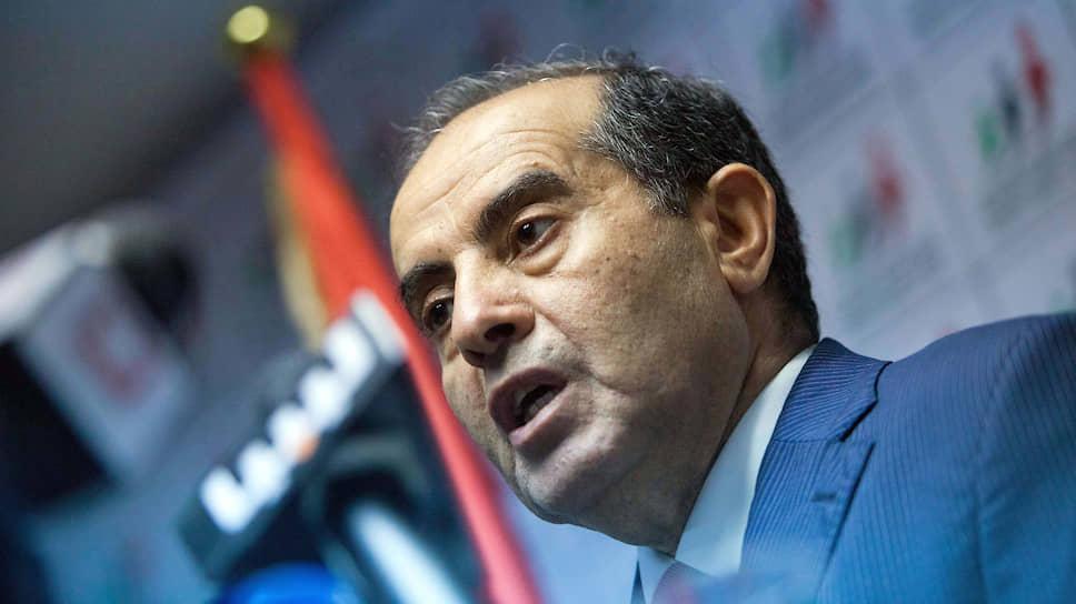 Бывший премьер-министр Ливии Махмуд Джибриль
