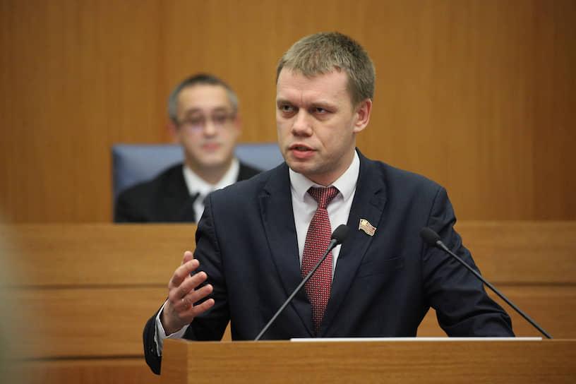 Депутат Мосгордумы Евгений Ступин