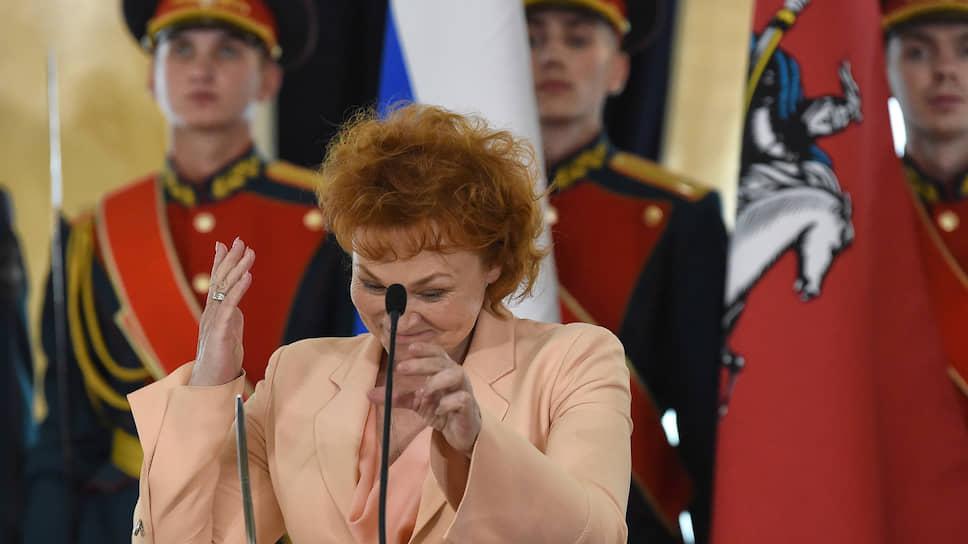 Депутат Мосгордумы Людмила Стебенкова