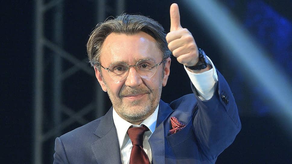 Музыкант Сергей Шнуров