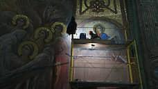 Демонтирована мозаика с изображением Путина в храме Вооруженных сил