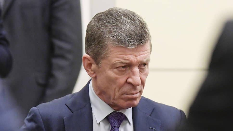 Замглавы АП Дмитрий Козак