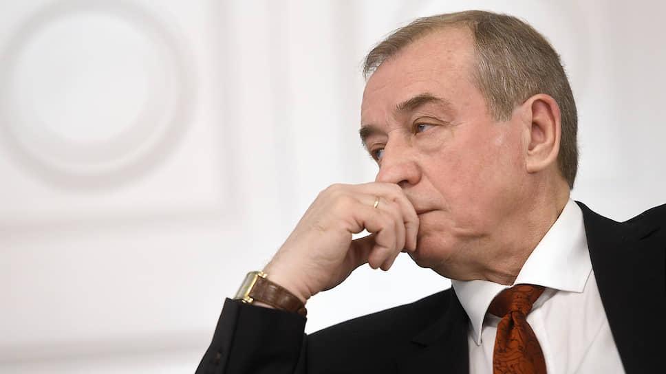 Бывший губернатор Иркутской области коммунист Сергей Левченко