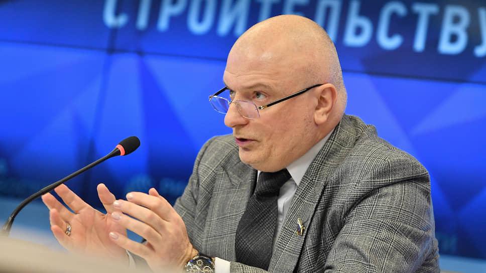 Глава комитета Совета федерации по конституционному законодательству Андрей Клишас