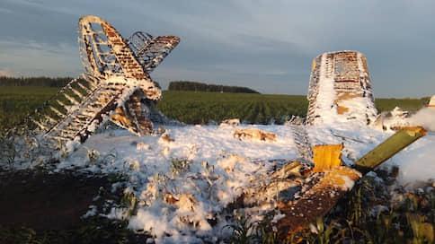В Нижегородской области при падении Ан-2 погиб человек