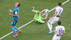 «Зенит» обыграл «Оренбург» в матче РПЛ