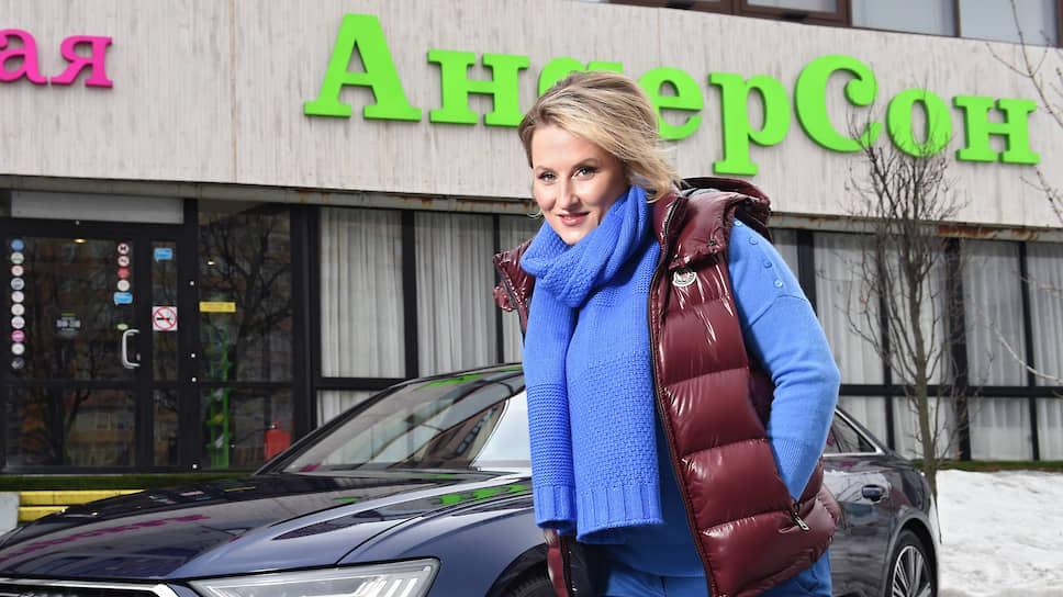 """Владелица сети кафе """"Андерсон"""" Анастасия Татулова"""