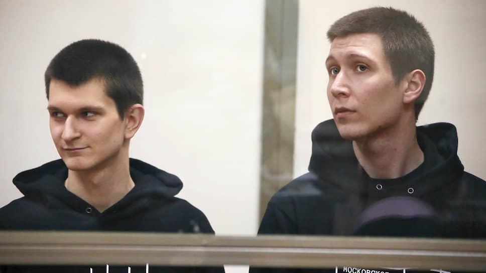 Ян Сидоров (слева) и Владислав Мордасов