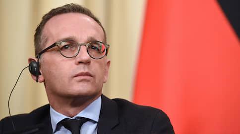 Глава МИД Германии Хайко Маас 11 августа может посетить Россию