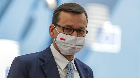 Польский премьер объяснил, чем Варшаве не нравится «Северный поток»