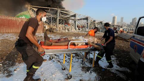 Число жертв взрыва в Бейруте превысило 100 человек