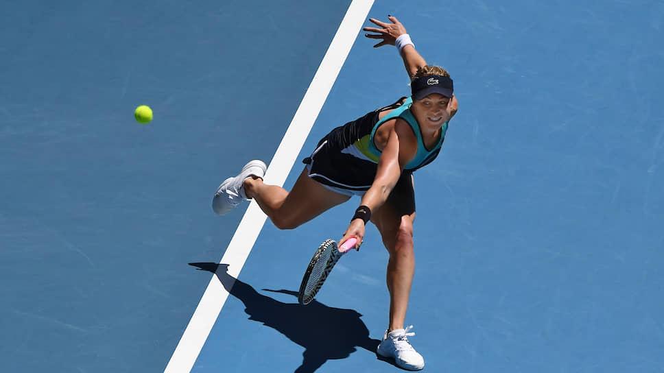Теннисистка Анастасия Павлюченкова