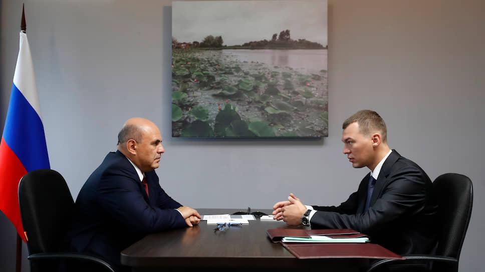 Как Михаил Мишустин поручил Михаилу Дегтяреву активизировать работу по инфраструктурным проектам