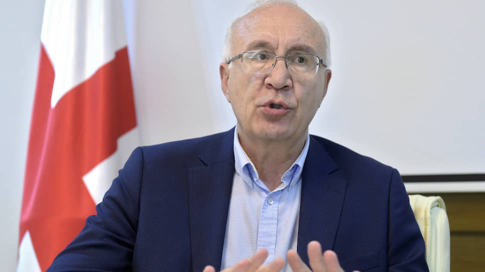 Специальный представитель премьер-министра Грузии по отношениям с Россией Зураб Абашидзе