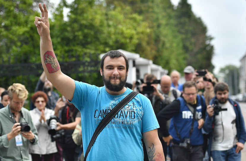 Лидер стачечного комитета МТЗ, член Координационного совета белорусской оппозиции Сергей Дылевский