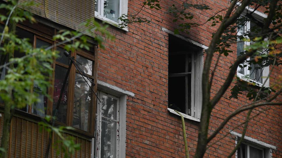 Взрыв произошел в жилом доме в Москве