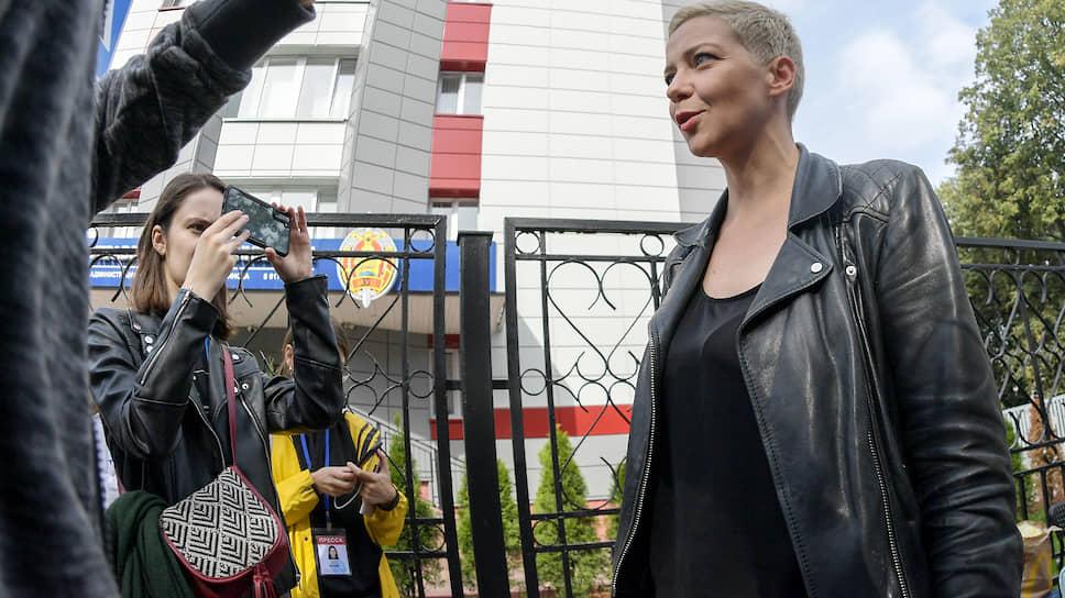 Член Координационного совета оппозиции Белоруссии Мария Колесникова