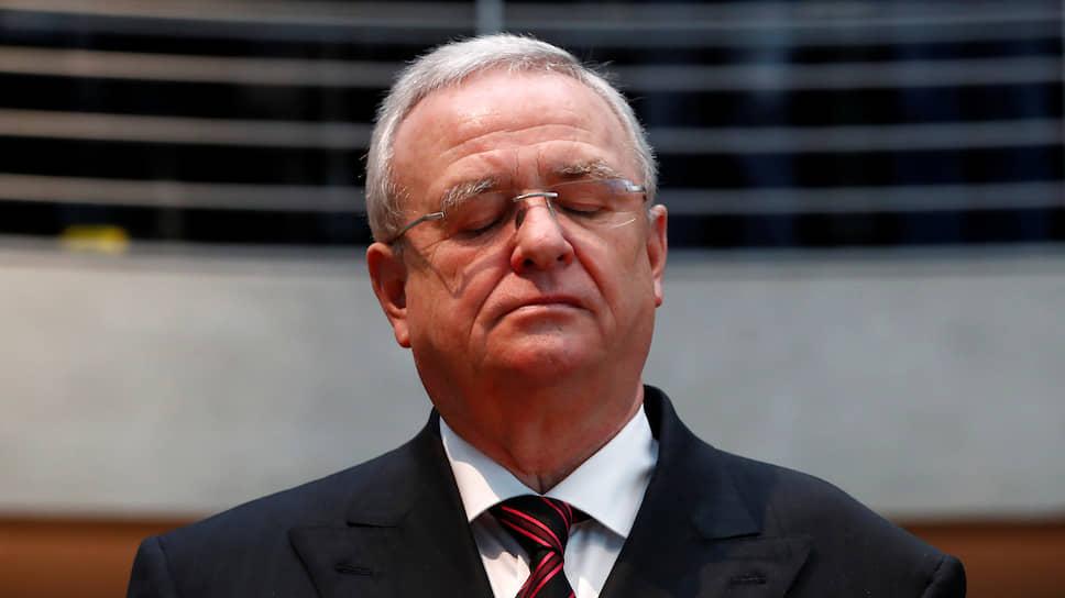 Бывший генеральный директор Volkswagen Мартин Винтеркорн