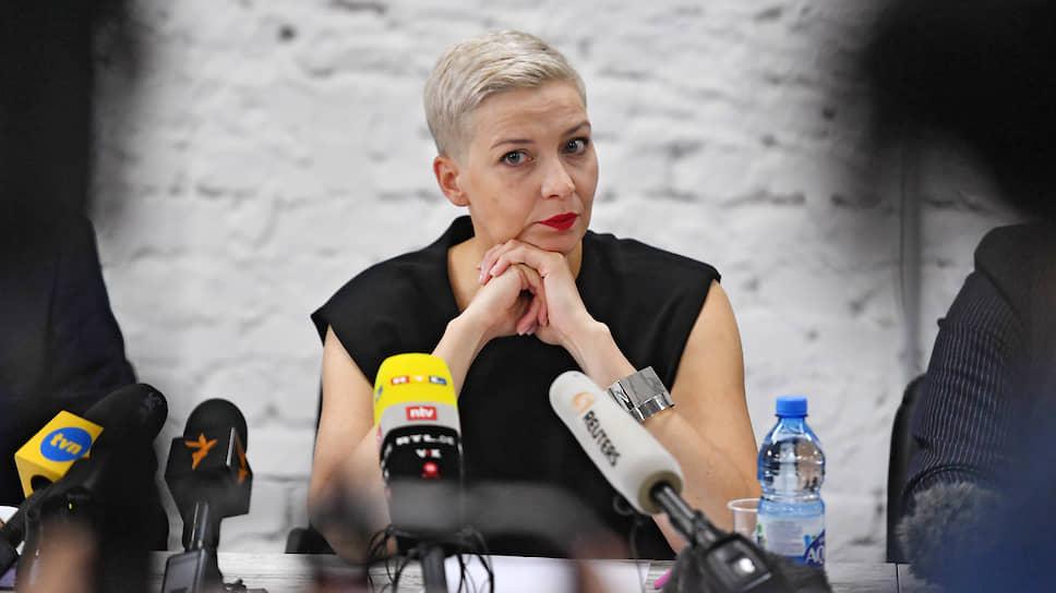 Член президиума координационного совета оппозиции Белоруссии Мария Колесникова