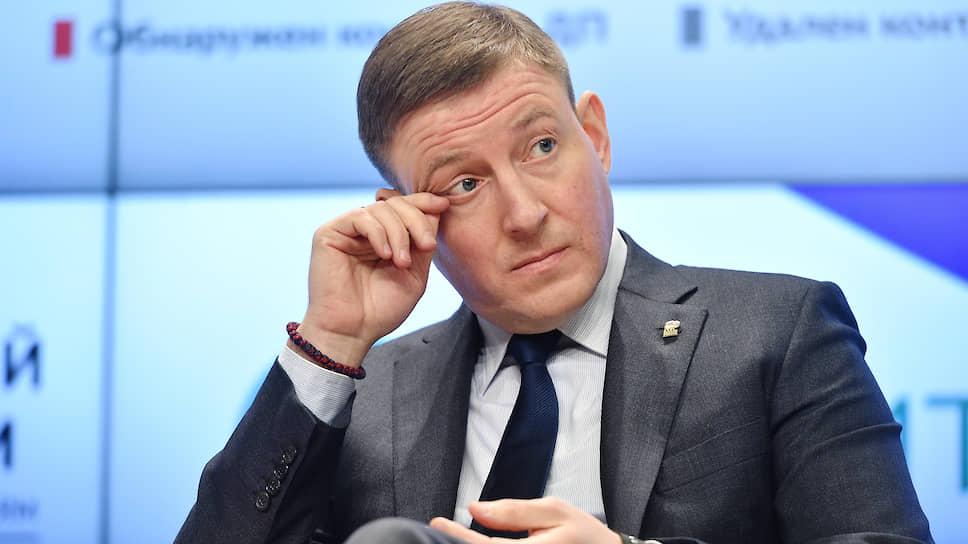 Заместитель председателя Совета федерации России Андрей Турчак