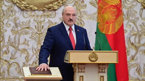 Лукашенко вступил в должность президента Белоруссии // Церемония не анонсировалась, были приглашены лишь несколько сотен гостей