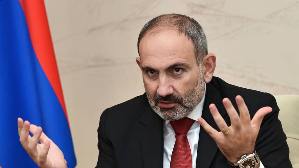 Премьер-министр Армении Пашинян ушел в отставку