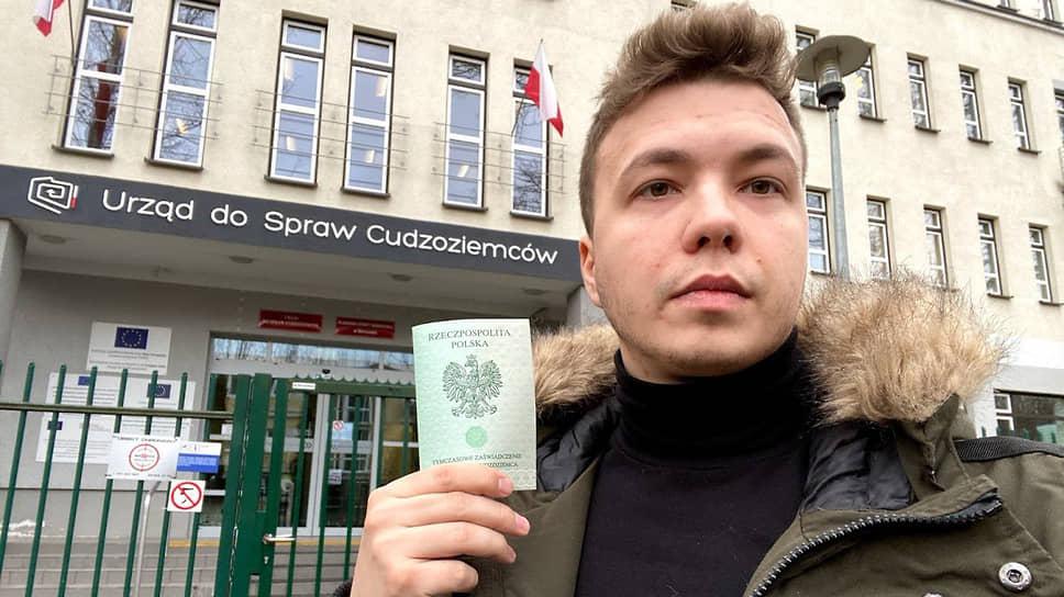Бывший главный редактор Nexta Роман Протасевич