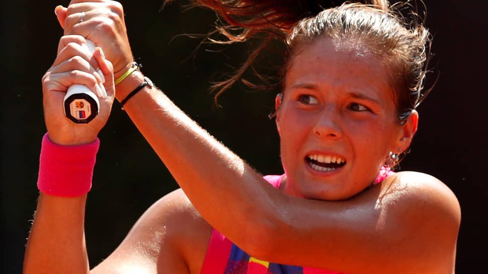 Теннисистка Дарья Касаткина