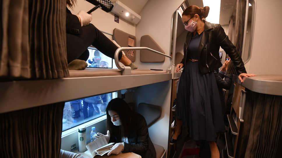 Новый плацкартный пассажирский вагон