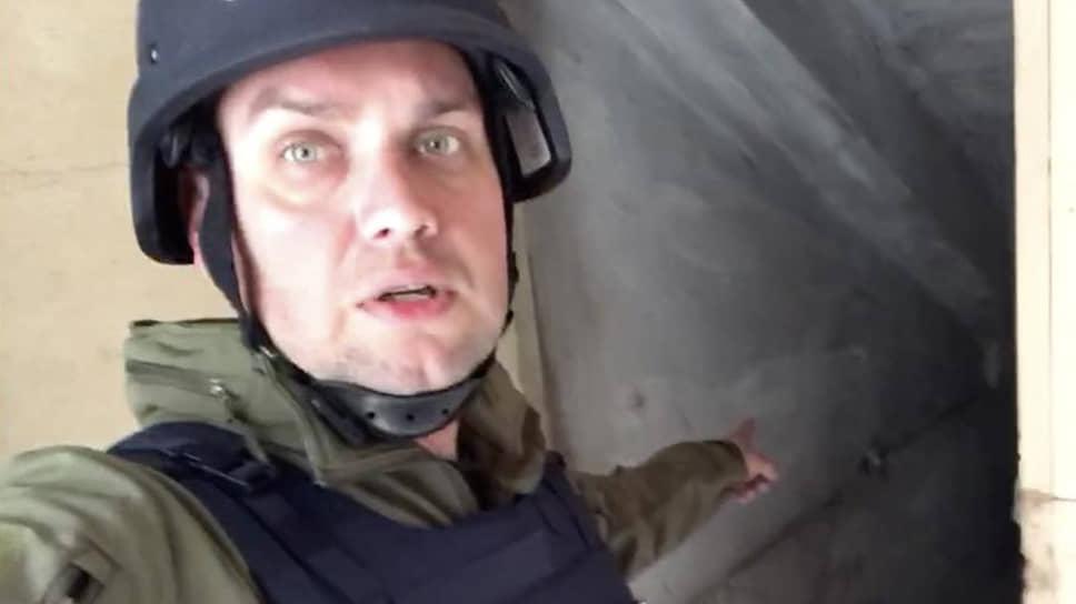 Корреспондент «Известий» Денис Кулага