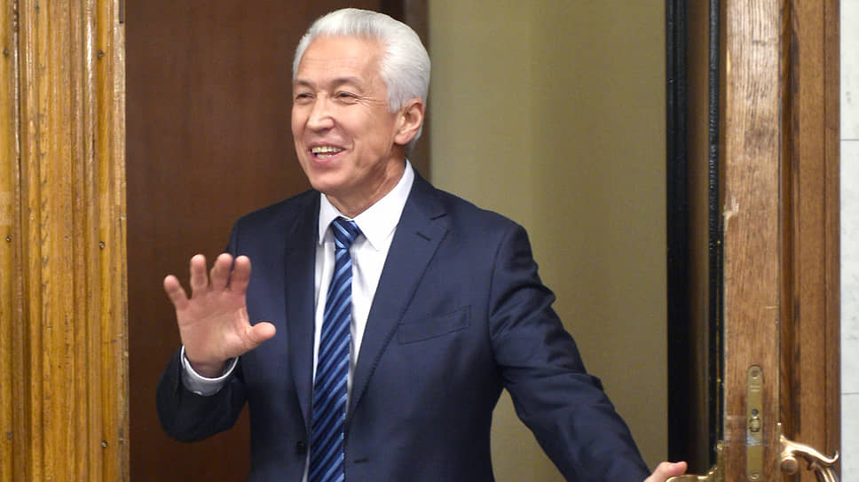 Место Владимира Васильева занял бывший заместитель директора Росгвардии Сергей Меликов