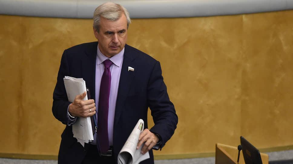 Депутат Госдумы России Вячеслав Лысаков