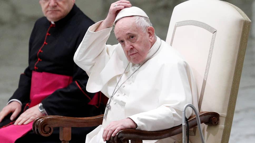 Папа Римський підтримав гей-союзи