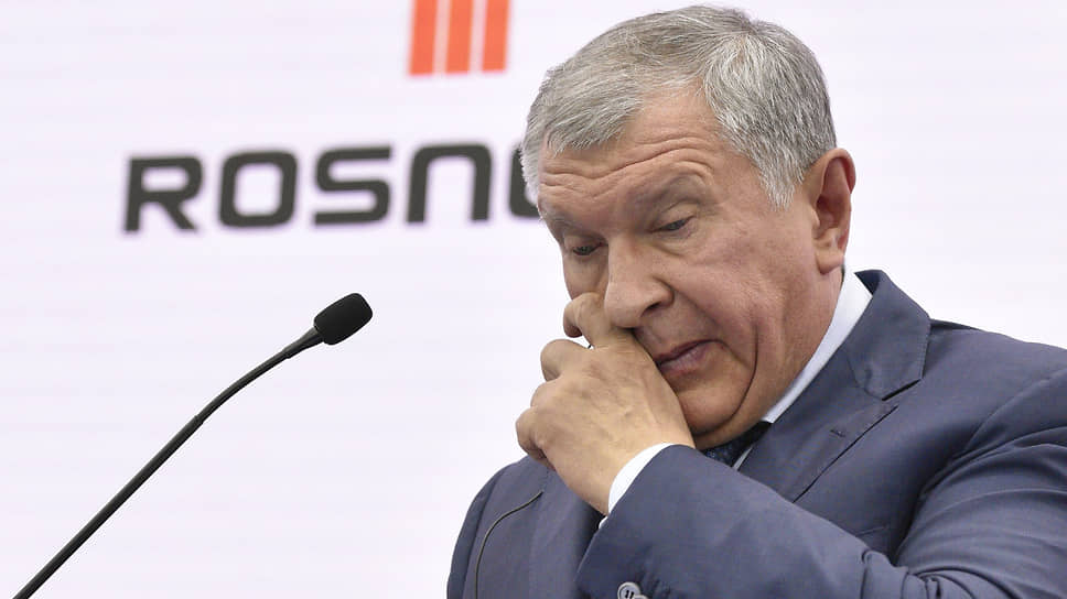 Главный исполнительный директор—предправления «Роснефти» Игорь Сечин